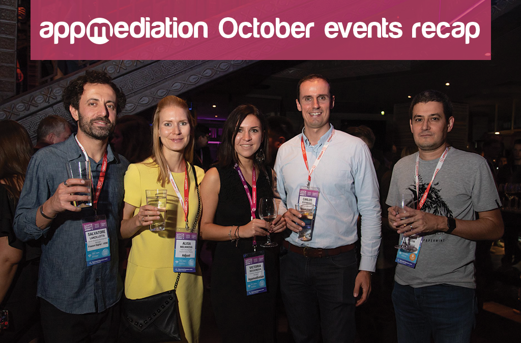 Recap of October's mobile industry events